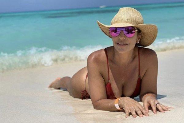 [Ivete Sangalo curte férias no México e sensualiza para Daniel Cady]