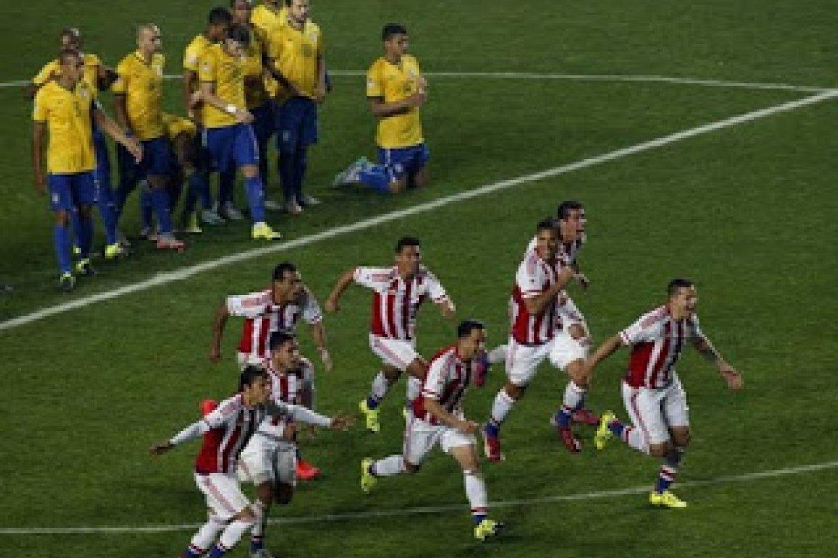[Brasil enfrenta Paraguai, velho carrasco na Copa América]