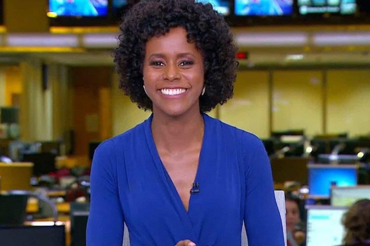[Web ferve com comentário racista de ex diretor de TV: 'Maju Coutinho é horrível e está lá por causa da cor' ]
