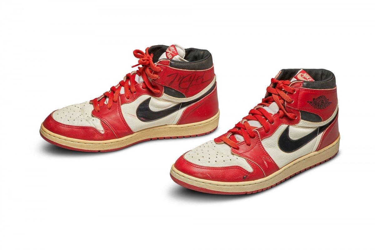 [Tênis explusivo de Michael Jordan é vendido por mais de R$ 3 milhões em leilão]