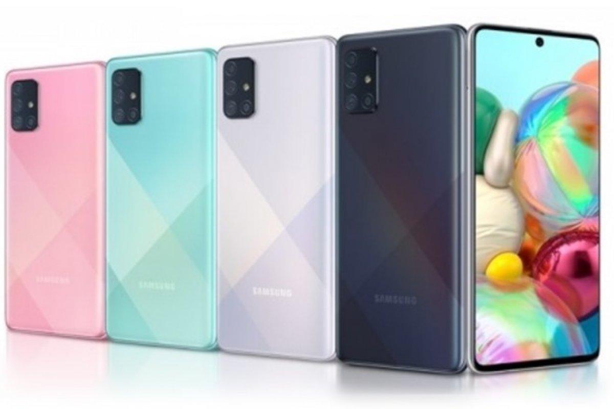 [Samsung Galaxy A72 poderá ser o primeiro celular da marca com 5 câmeras]