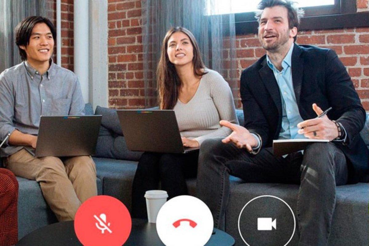 [Google Meet passa a ter limite de uma hora para vídeochamadas ]