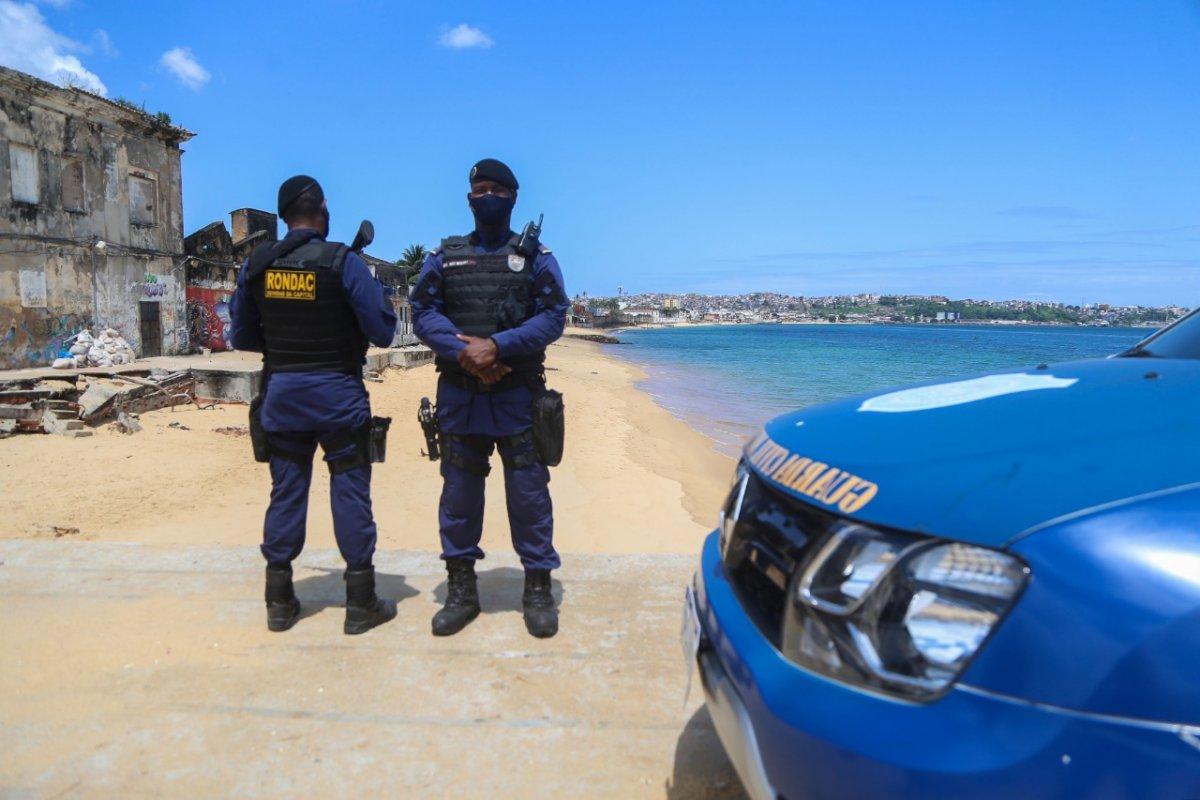 [Manhã de fiscalização em praias interditadas de Salvador é finalizada sem ocorrências]