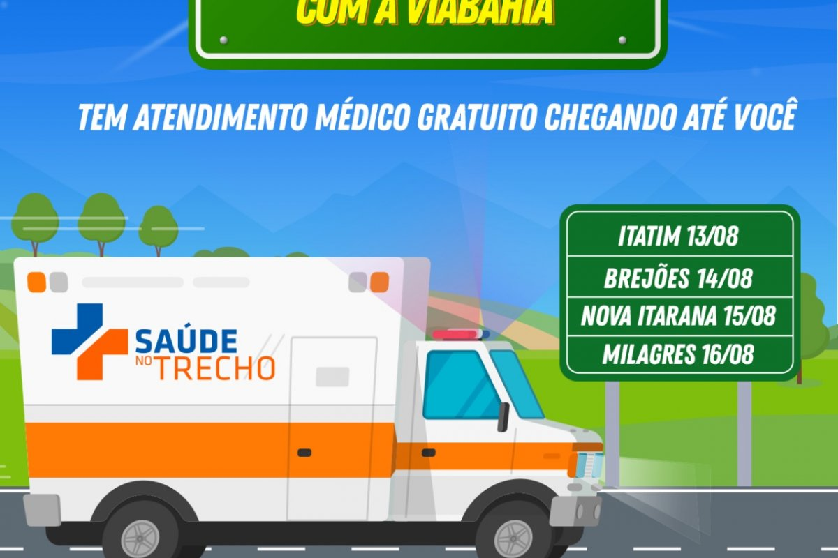 [Municípios baianos recebem caravana da saúde nesse segundo semestre]