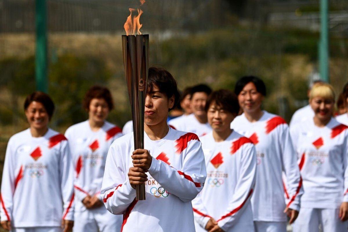 [Revezamento da tocha olímpica no Japão começa nesta quinta-feira (25)]