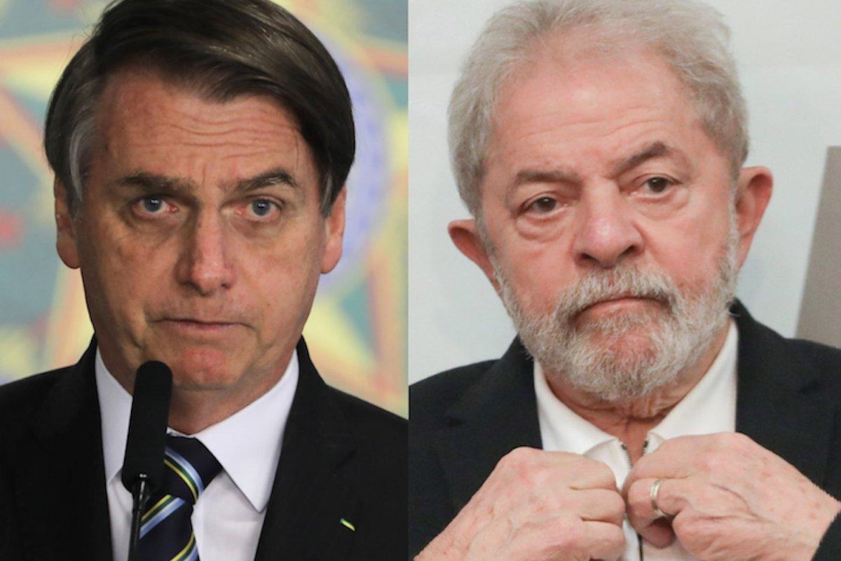 [XP/Ipespe: Pesquisa eleitoral 2022 tem Bolsonaro e Lula empatados tecnicamente]