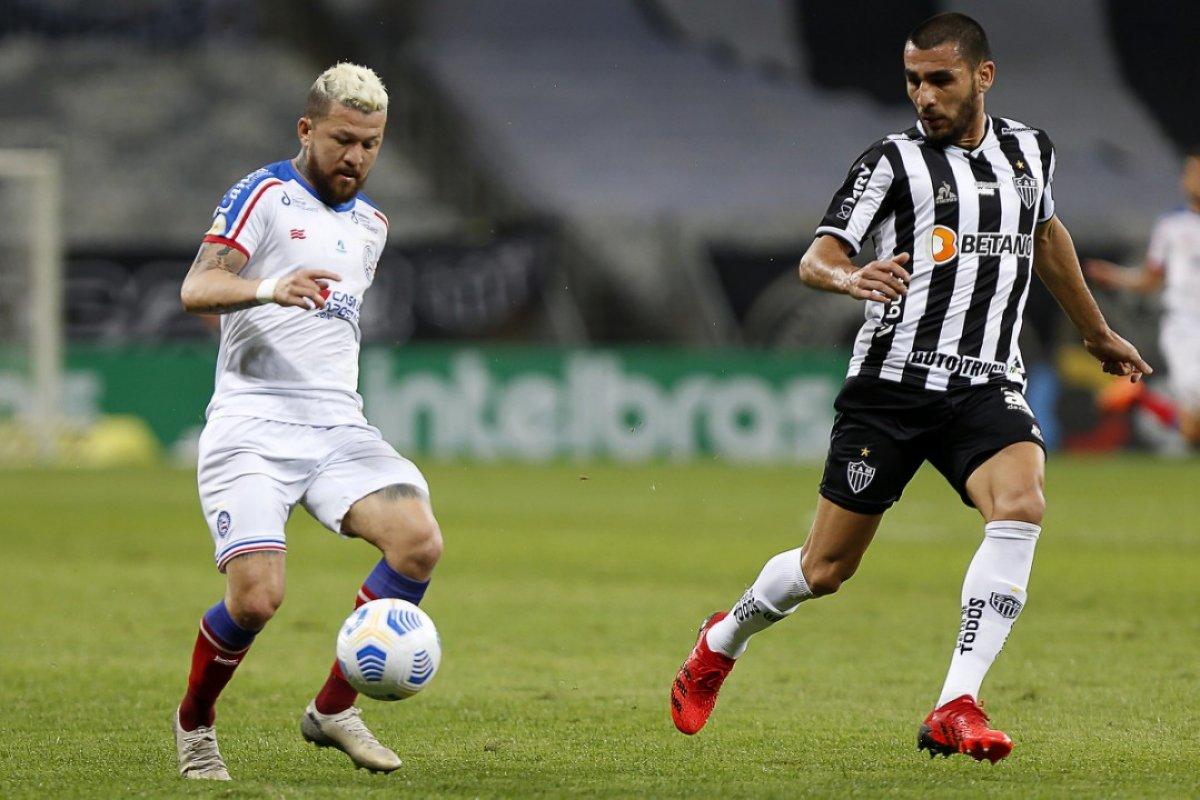 [Bahia é derrotado novamente pelo Atlético e se complica na busca por vaga nas quartas da Copa do Brasil]