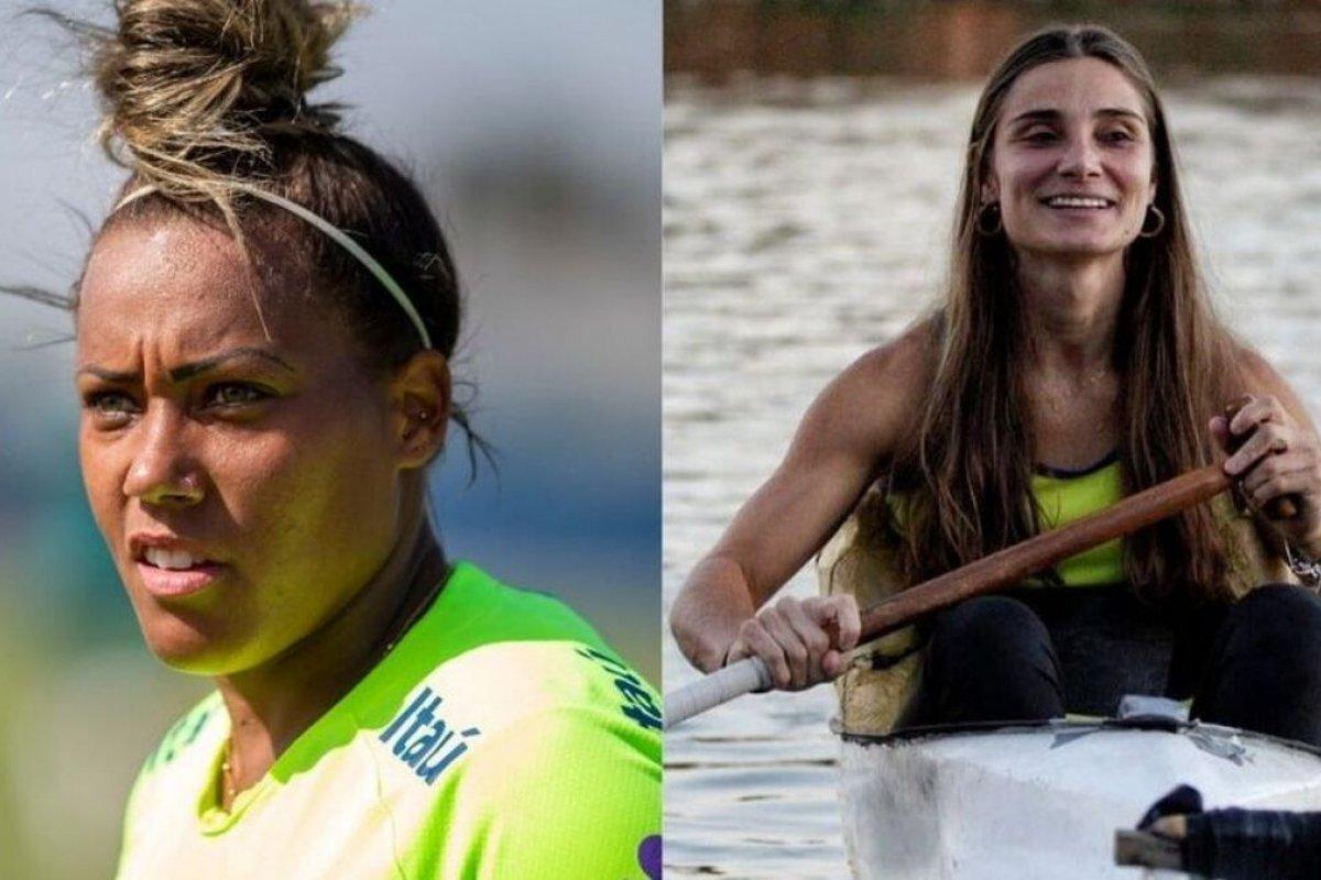 [Goleira da seleção de futebol feminina troca farpas com atleta paralímpica pelas redes sociais]